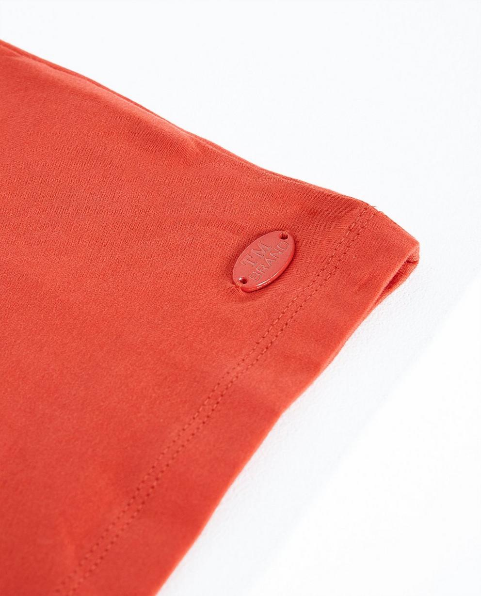 T-shirts - Pflaume - Rood T-shirt